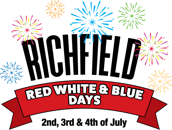 richfield red white and blue
